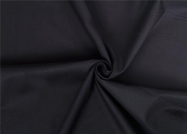 Bawełniane płótno czarne z Oeko-Tex 01805/069