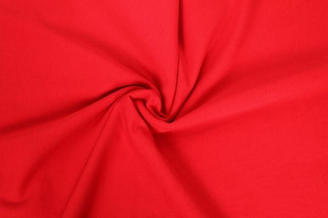 Dzianina bawełniana w kolorze czerwonym 05438/015