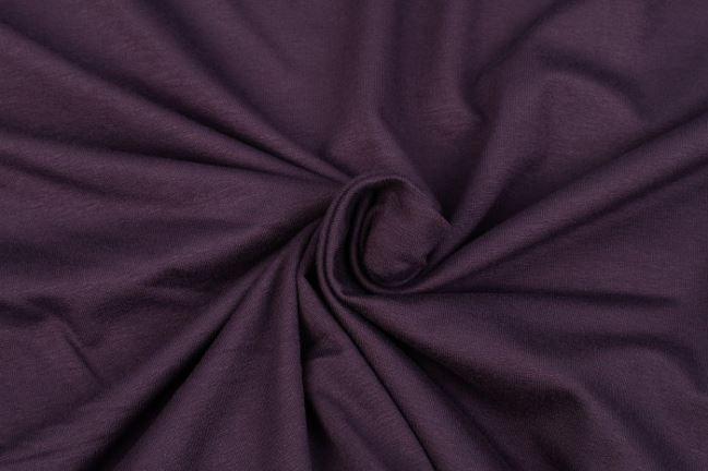 Dzianina elastyczna fioletowa 02194/247