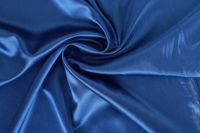 Satyna elastyczna głęboko niebieska 04241/005