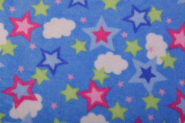 Polar wellness niebieski w kolorowe gwiazdki JA41